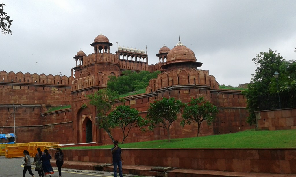 Visit to the Red Forts in Dehli and Agra
