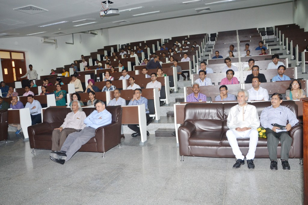 Auditorium at the AIIMS Jodhpur, with the authorities, faculty and students.