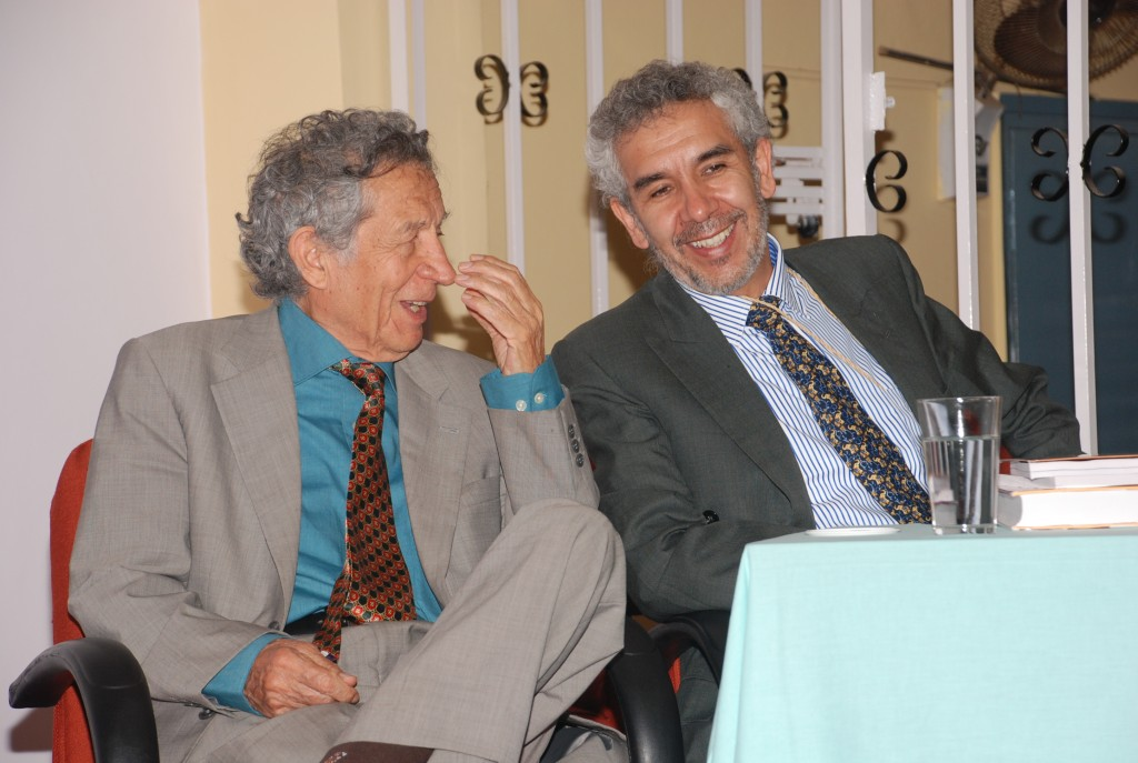 A memorable photo form the past when late Prof. Dr. Gustavo Zubieta-Castillo (Sr) and Prof. Dr. Gustavo Zubieta-Castillo shared wonderful moments together at St. John's Medical College,