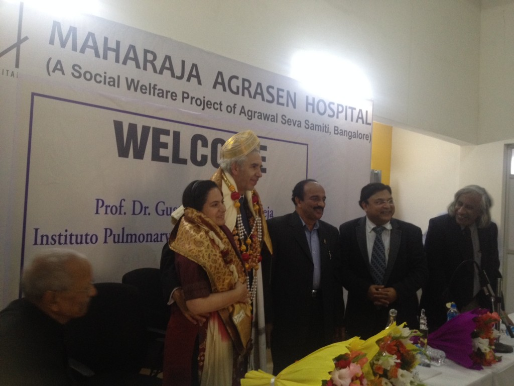 Group picture right after the ceremony with Lucretia De Urioste, K.V.R. Tagore and