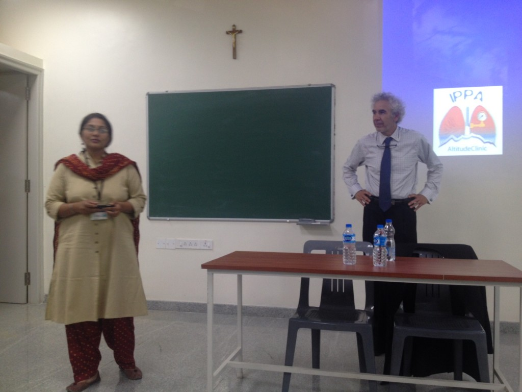 Introduction to the conference at St. Jhon's medical college