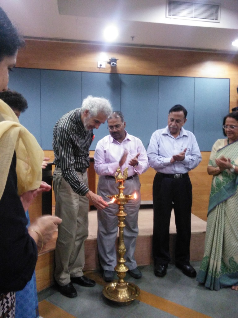 Lighting the candles of enlightenment, which brings knowledge lights to darkness.