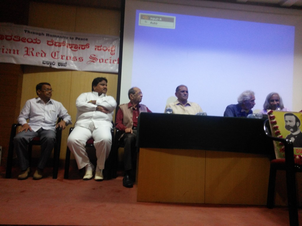 Conference at VIMS Bellary (Vijayanagar Institute of Medical Sciences). on Remarkable Adaptation to Chronic Hypoxia).