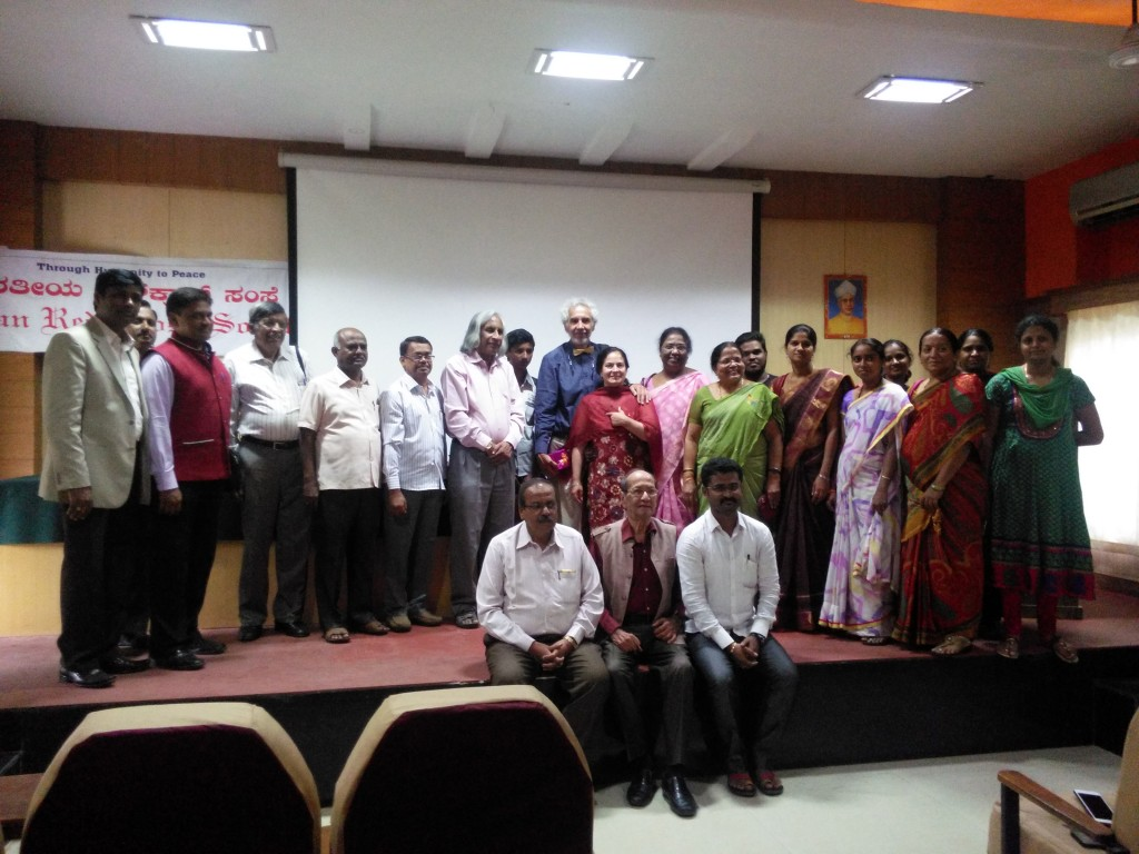 Conference at VIMS Bellary (Vijayanagar Institute of Medical Sciences) Group photo.