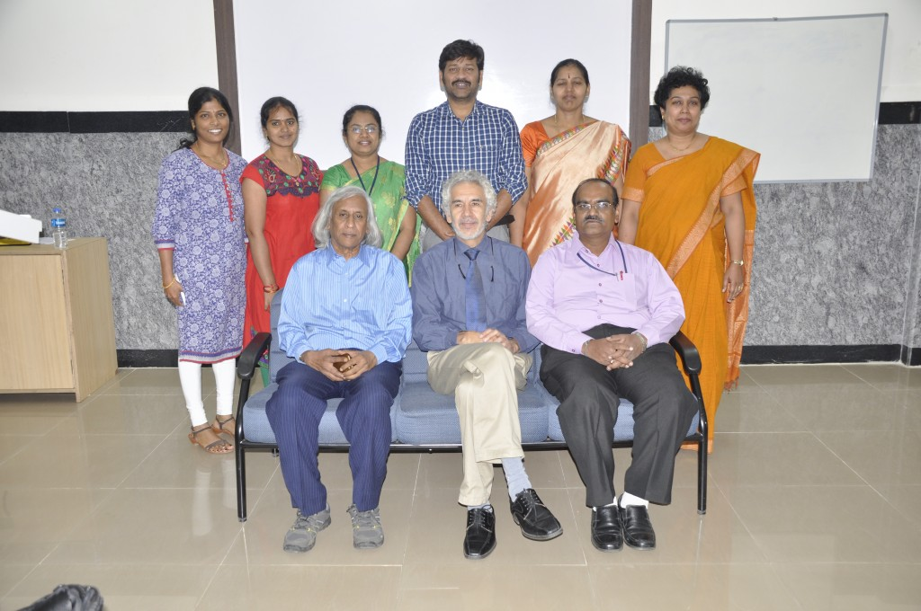 A group photo after the conference with some of the faculty of  Sri Devaraj Urs Academy Of Higher Education and Research.