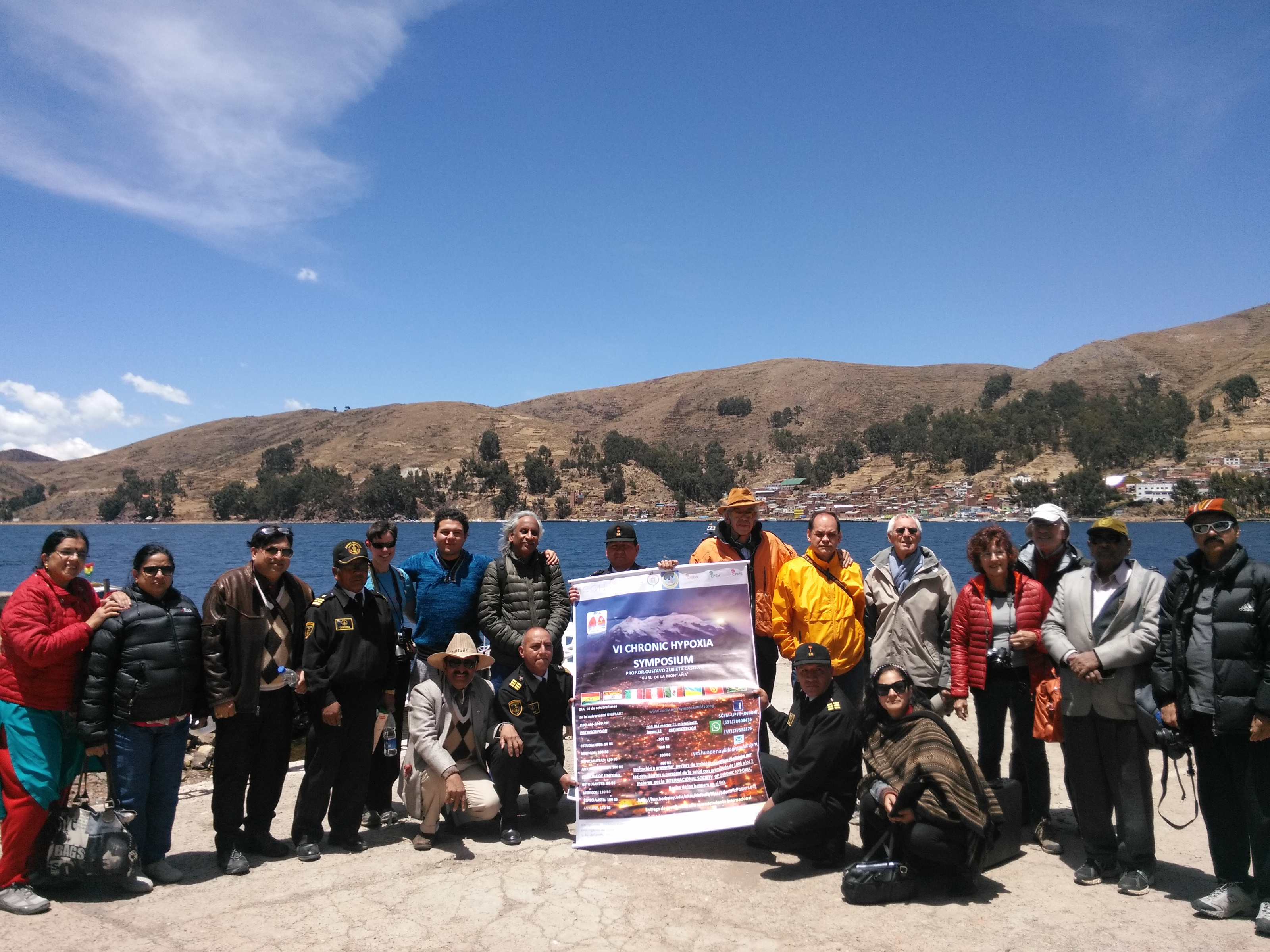 Arrival to the Titicaca Lake
