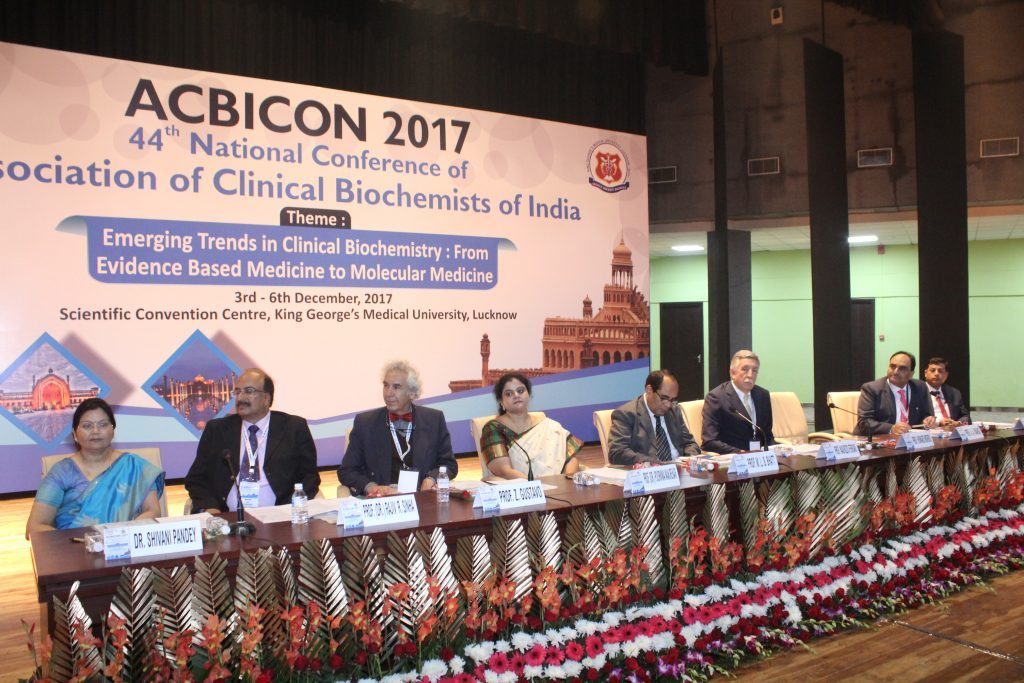 Opening ceremony of the ACBICON conference in Lucknow, India Dec 3 2017