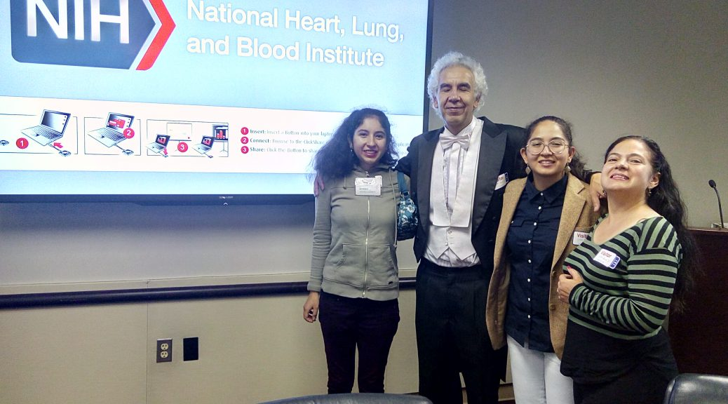 Conference of Prof. Dr. Gustavo Zubieta-Calleja at the lung division of the National Institutes of Health in Bethesda, Md.